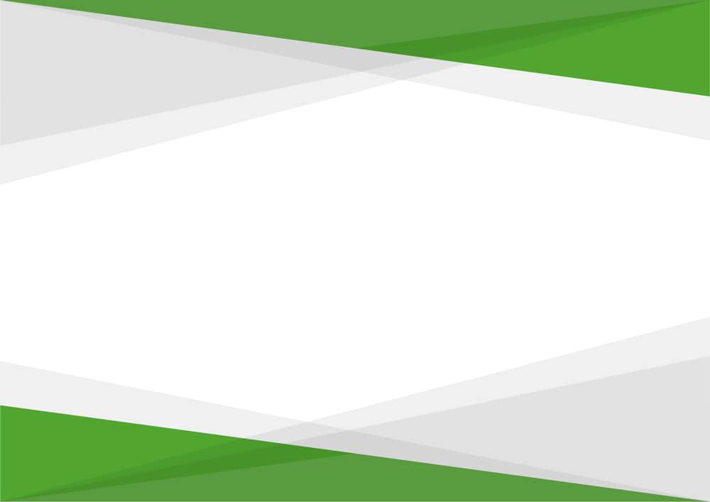 可愛いイラスト無料|シンプルな背景 三角グラデ 上下 高彩度 緑色 あしらい