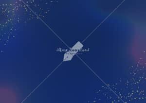 イラストデータ販売|星屑とにじみの背景 青色 イラストデータ