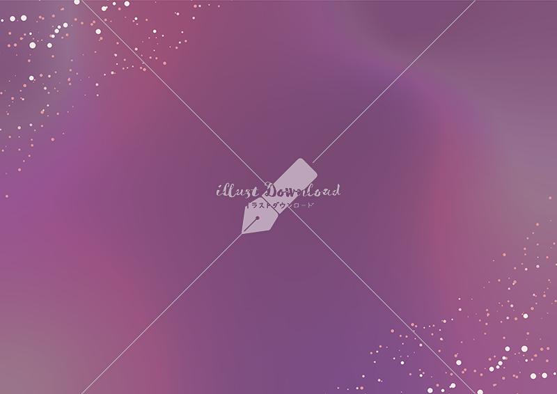イラストデータ販売|星屑とにじみの背景 紫色 イラストデータ
