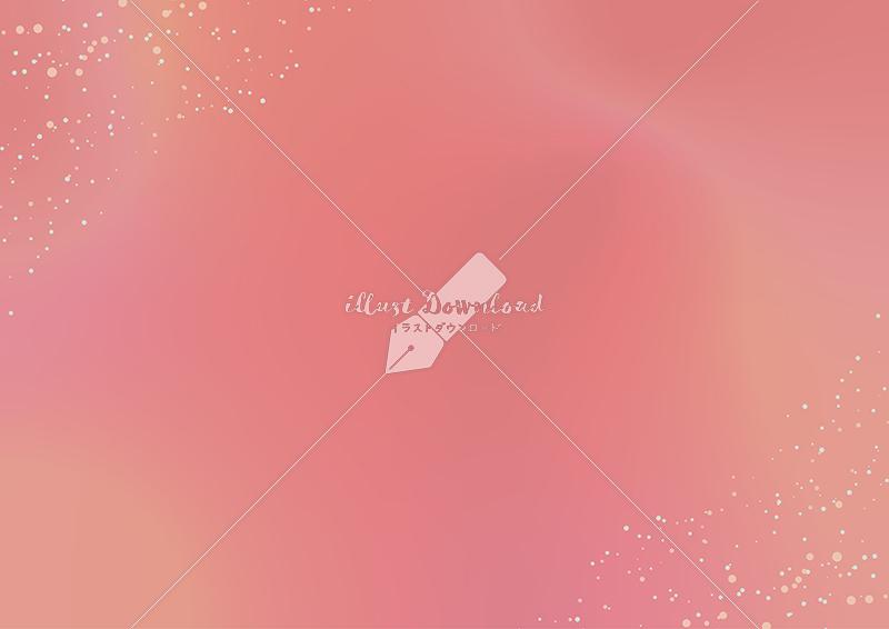 イラストデータ販売|星屑とにじみの背景 ピンク イラストデータ