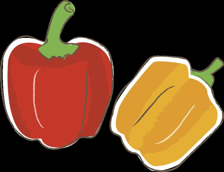 可愛いイラスト無料 野菜 パプリカ 公式 イラスト素材サイト イラストダウンロード