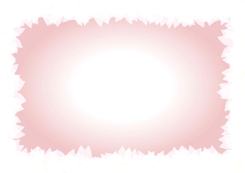 可愛いイラスト無料 桜 枠 背景 Free Illustration Cherry Blossom