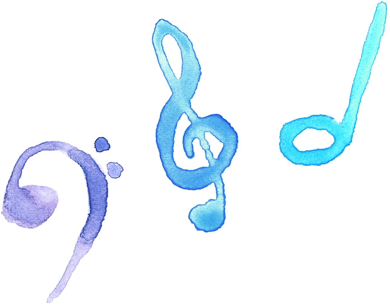 音符 音楽 イラスト 無料2 | イラストダウンロード