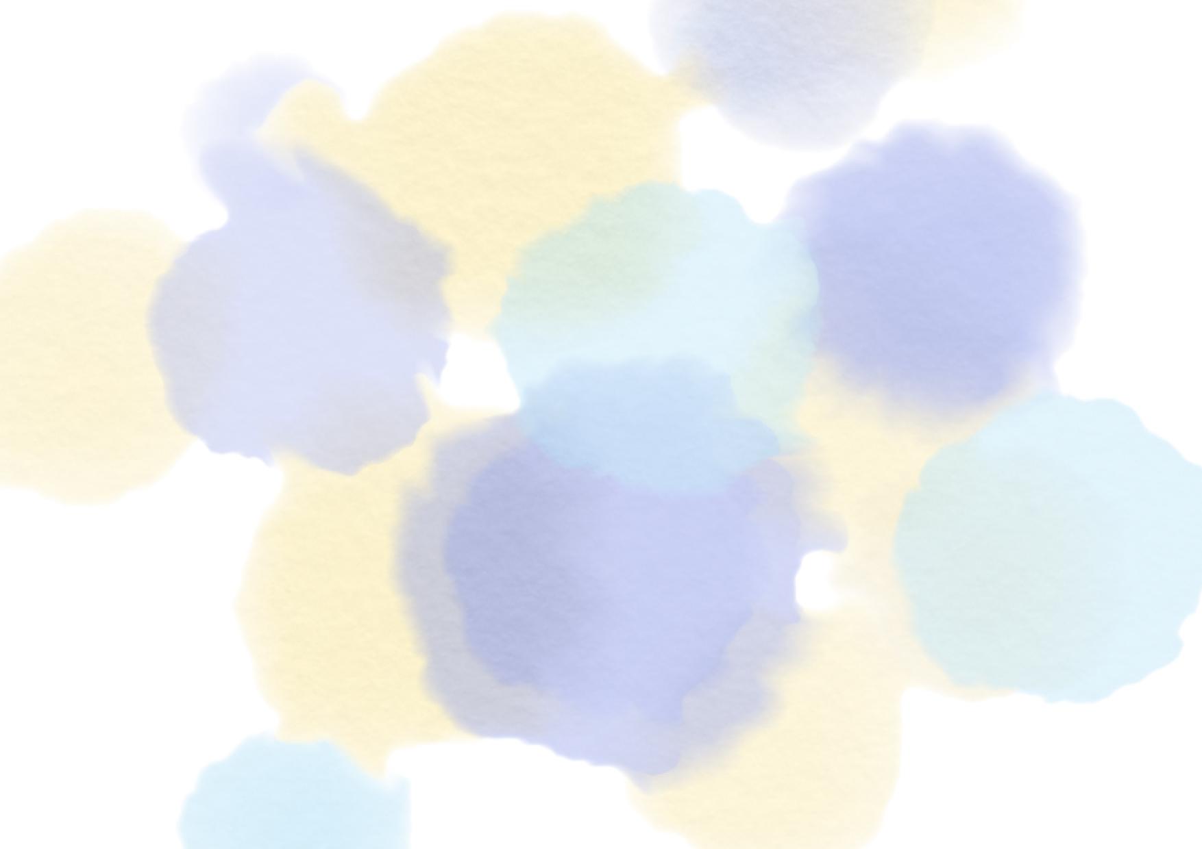 かわいい 背景 水彩 にじみ イラスト 無料 無料イラストのイラスト