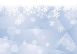 背景 雪の結晶 ガラス 青 イラスト 無料