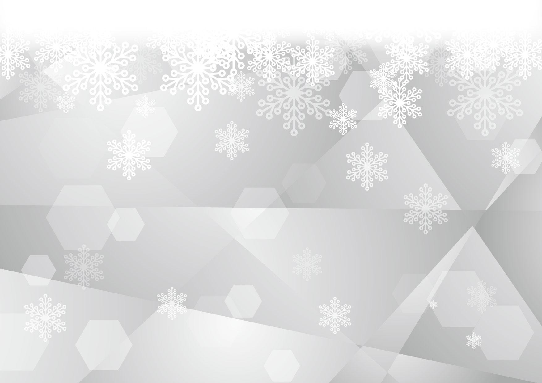 雪の結晶 ガラス グレー 背景 イラスト 無料