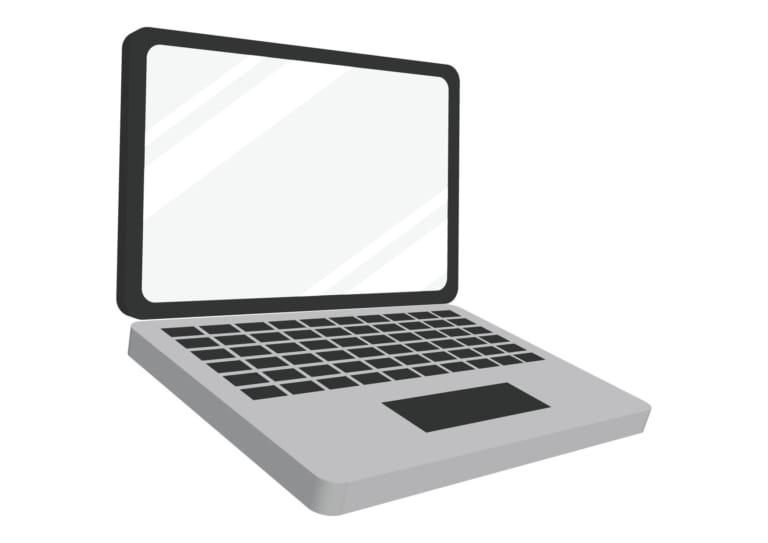 ノートパソコン イラスト 無料 無料イラストのイラストダウンロード