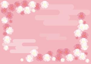 背景 桃の花 イラスト 無料背景 桃の花 イラスト 無料