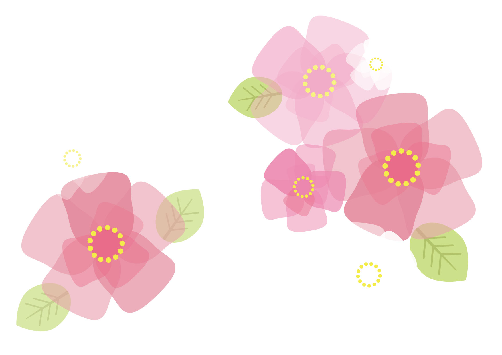 ひな祭り 桃の花 イラスト 無料