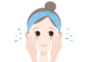 女性 洗顔 イラスト 無料