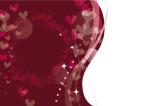 ハート ピンク バレンタイン 背景 イラスト 無料