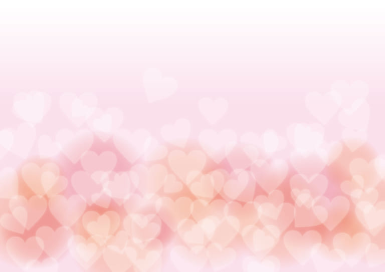 ハート ピンク バレンタイン ホワイトデー 背景 イラスト 無料