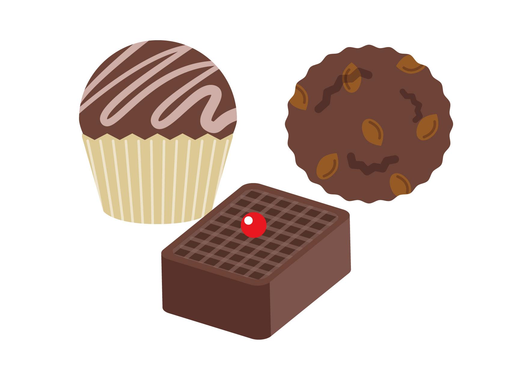 バレンタイン チョコレート イラスト 無料