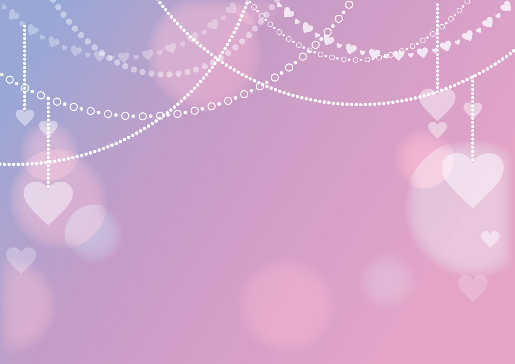 可愛いイラスト無料|バレンタイン 背景 チェーン ピンク − free illustration Valentine background chain pink