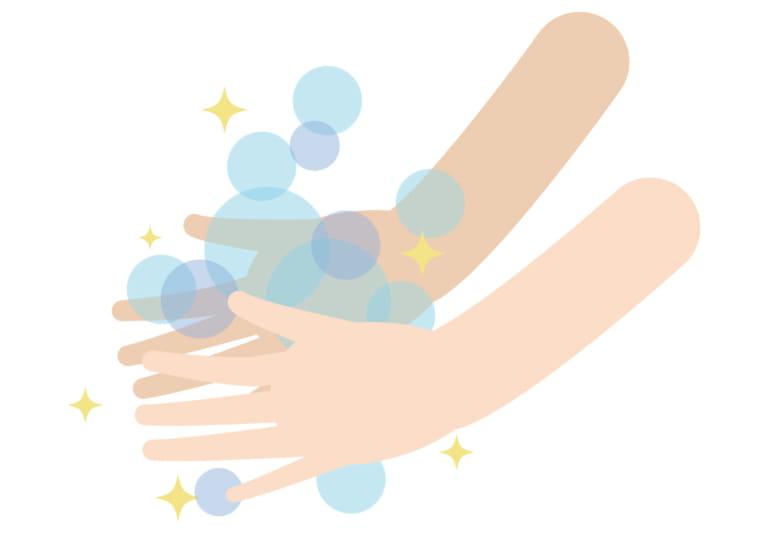 手洗い 石鹸 イラスト 無料