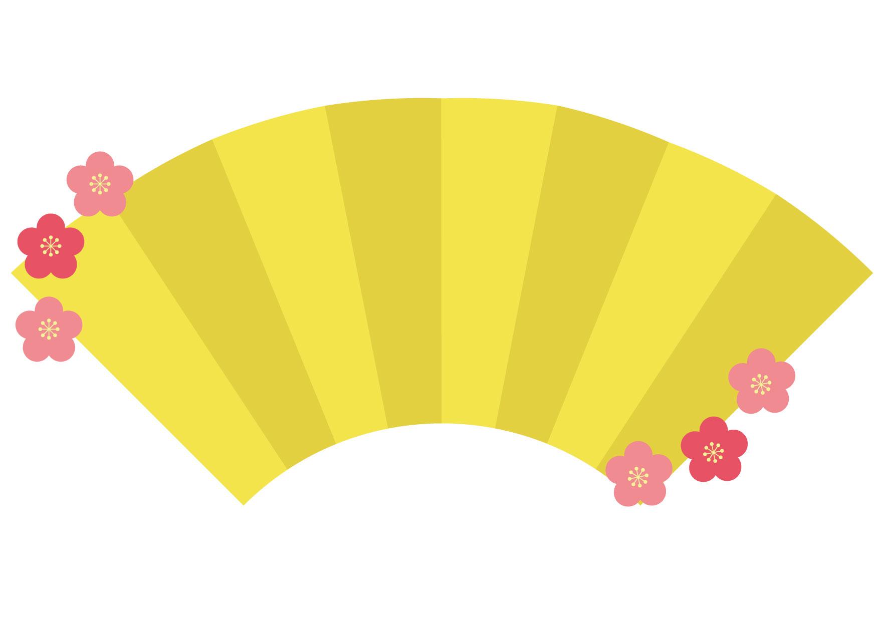 可愛いイラスト無料|ひな祭り 屏風 フレーム − free illustration Hinamatsuri Folding screen frame