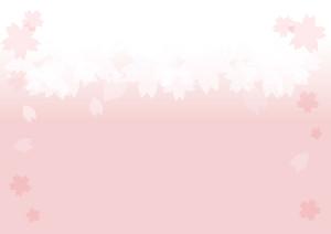 背景 花 桜 ピンク イラスト 無料