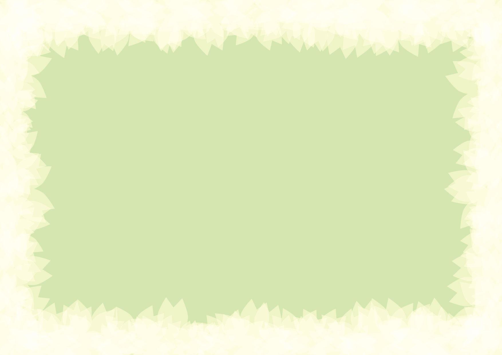 可愛いイラスト無料|グリーン 枠 背景 − free illustration Green frame background