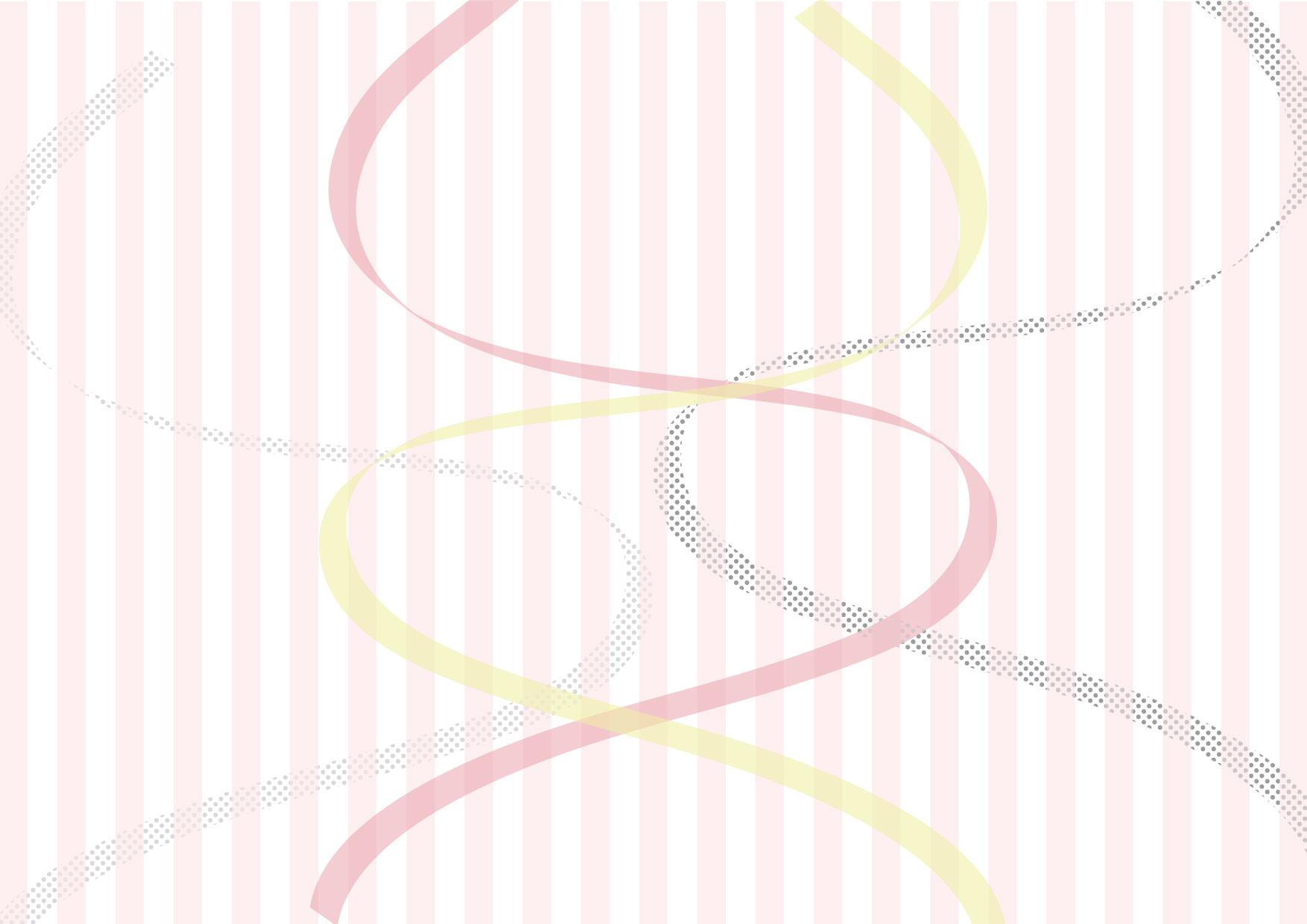 背景 リボン ストライプ ピンク イラスト 無料