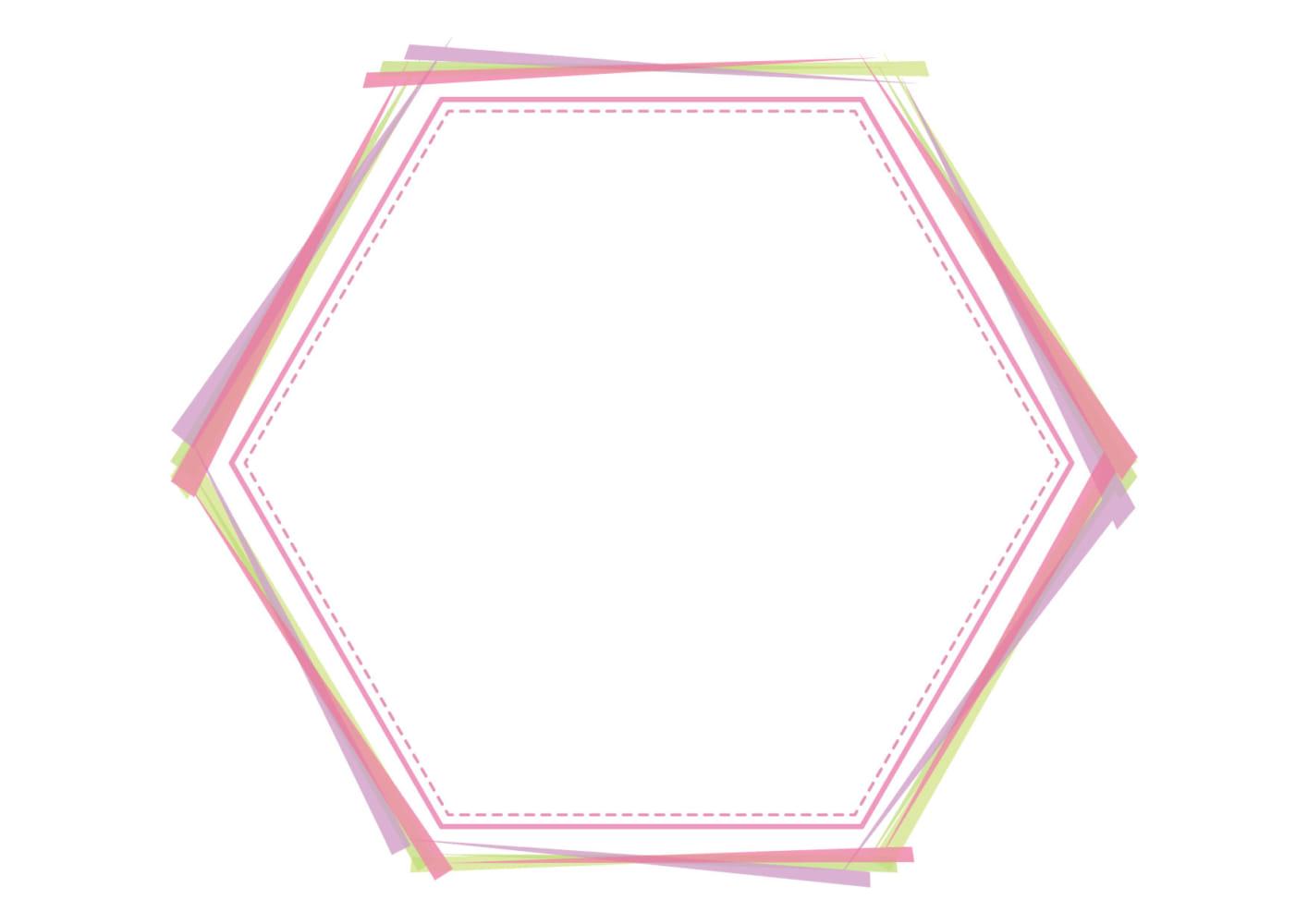 背景 ピンク フレーム イラスト 無料