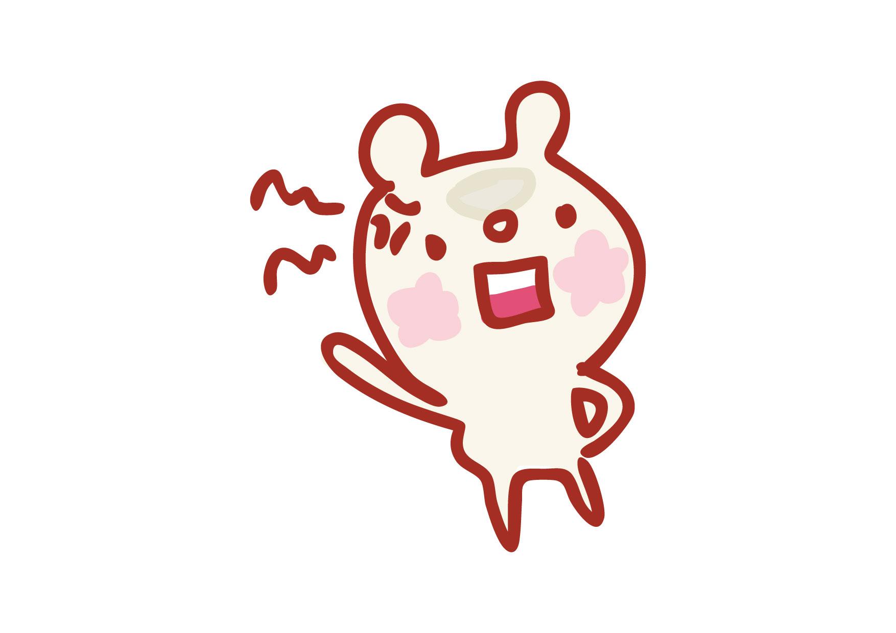 可愛いイラスト無料 くまさん 怒り − free illustration Bear anger