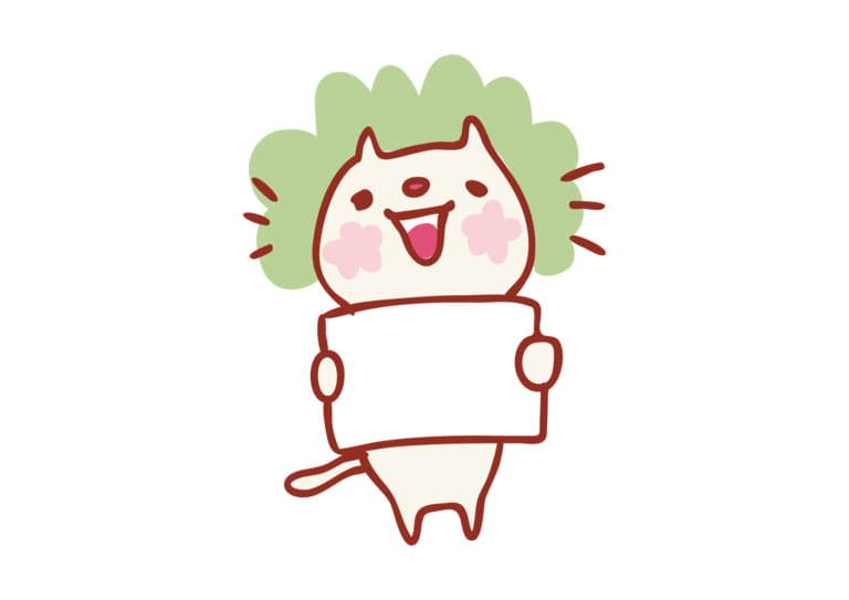 かわいい 猫 フリップ イラスト 無料