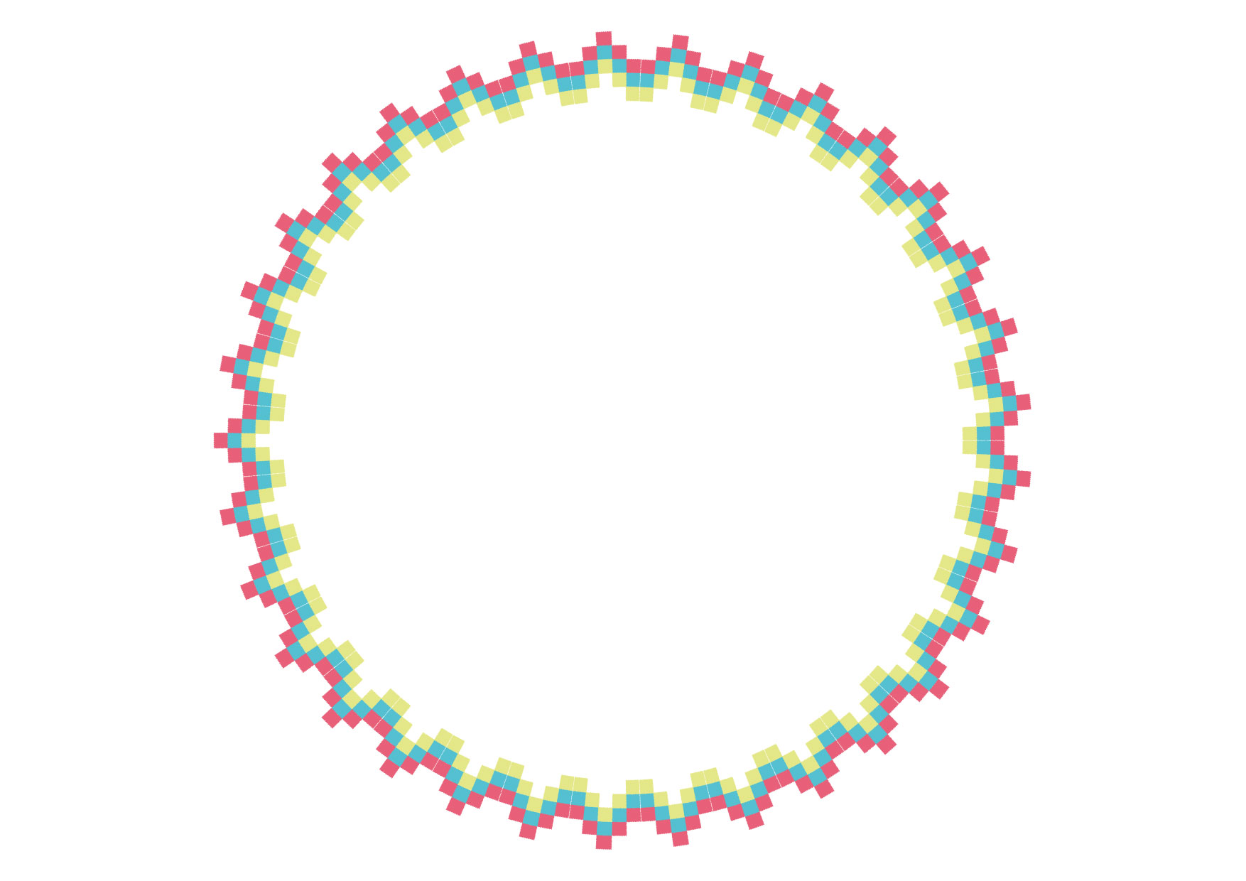 可愛いイラスト無料|エキゾチック 円 フレーム カラフル − free illustration Exotic circle frame colorful