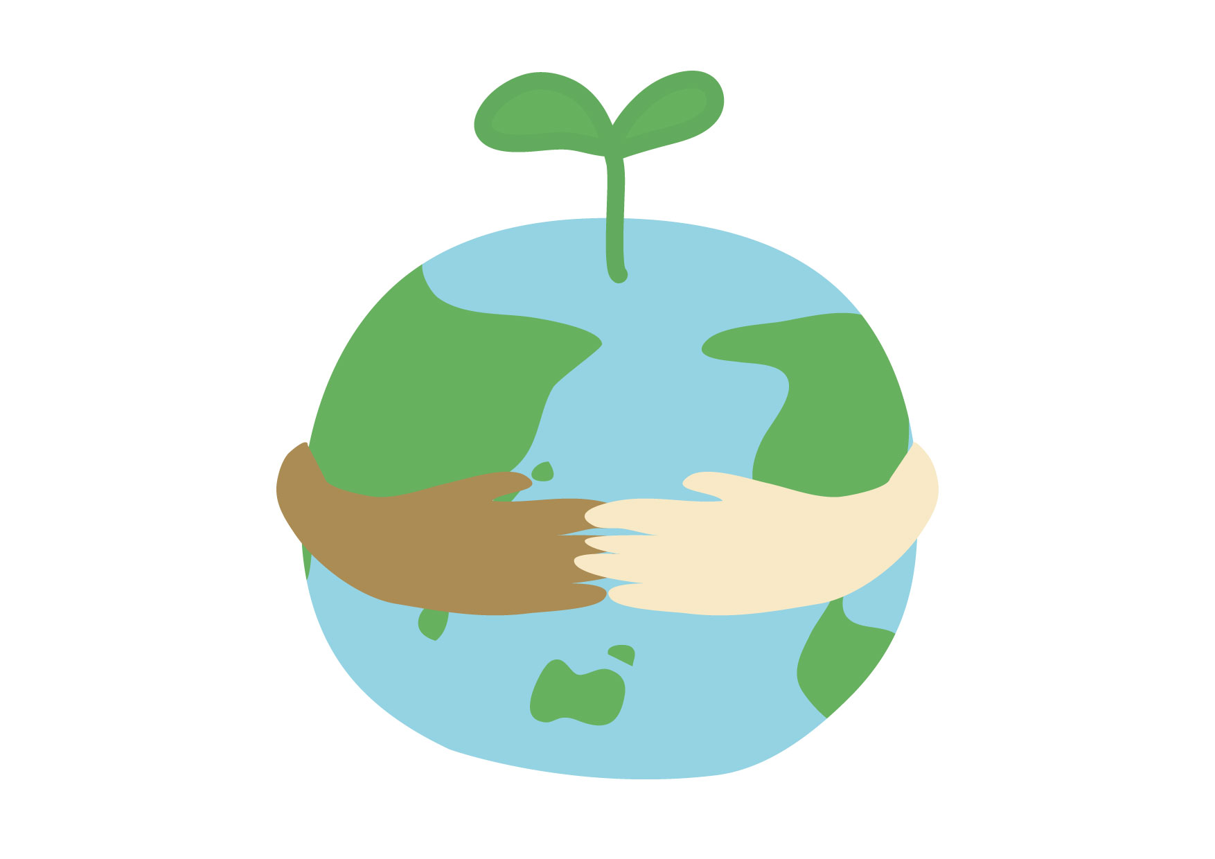 地球 双葉 人権 環境 イラスト 無料
