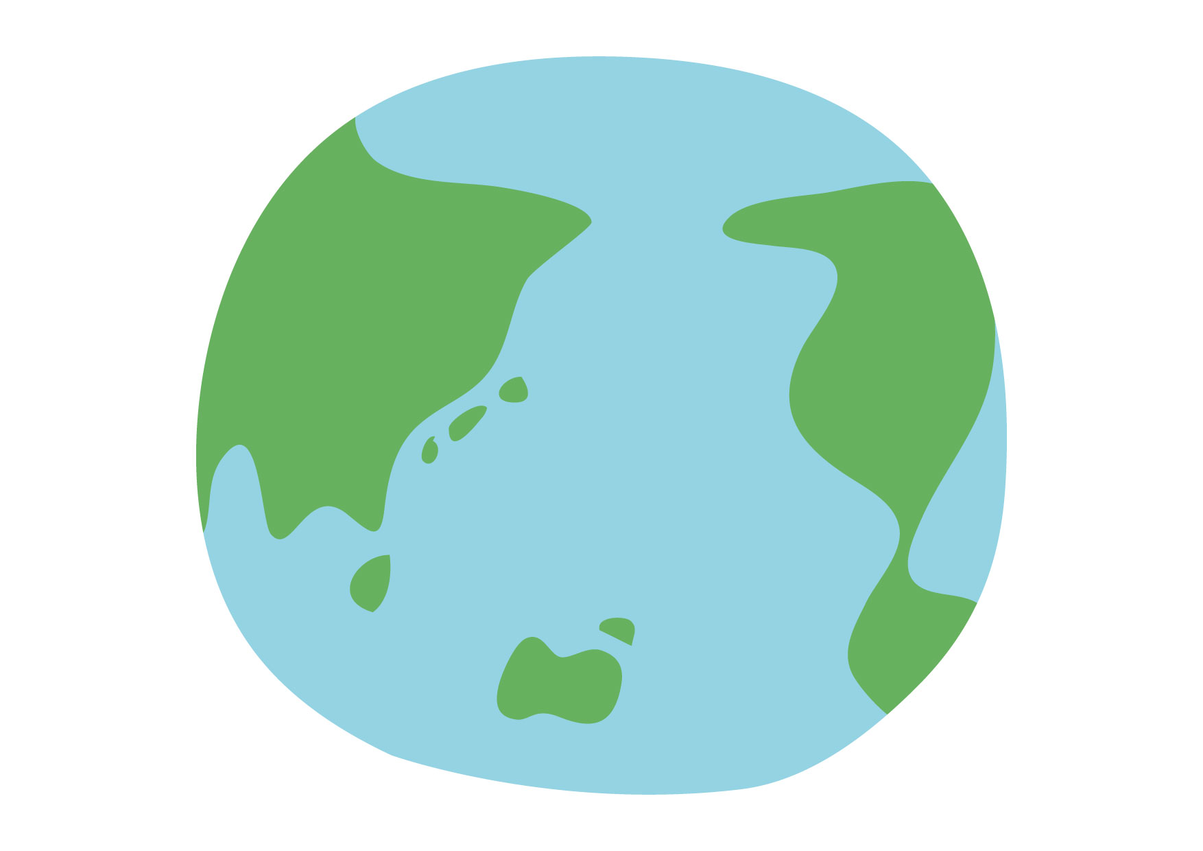 可愛いイラスト無料|地球 環境 − free illustration Earth