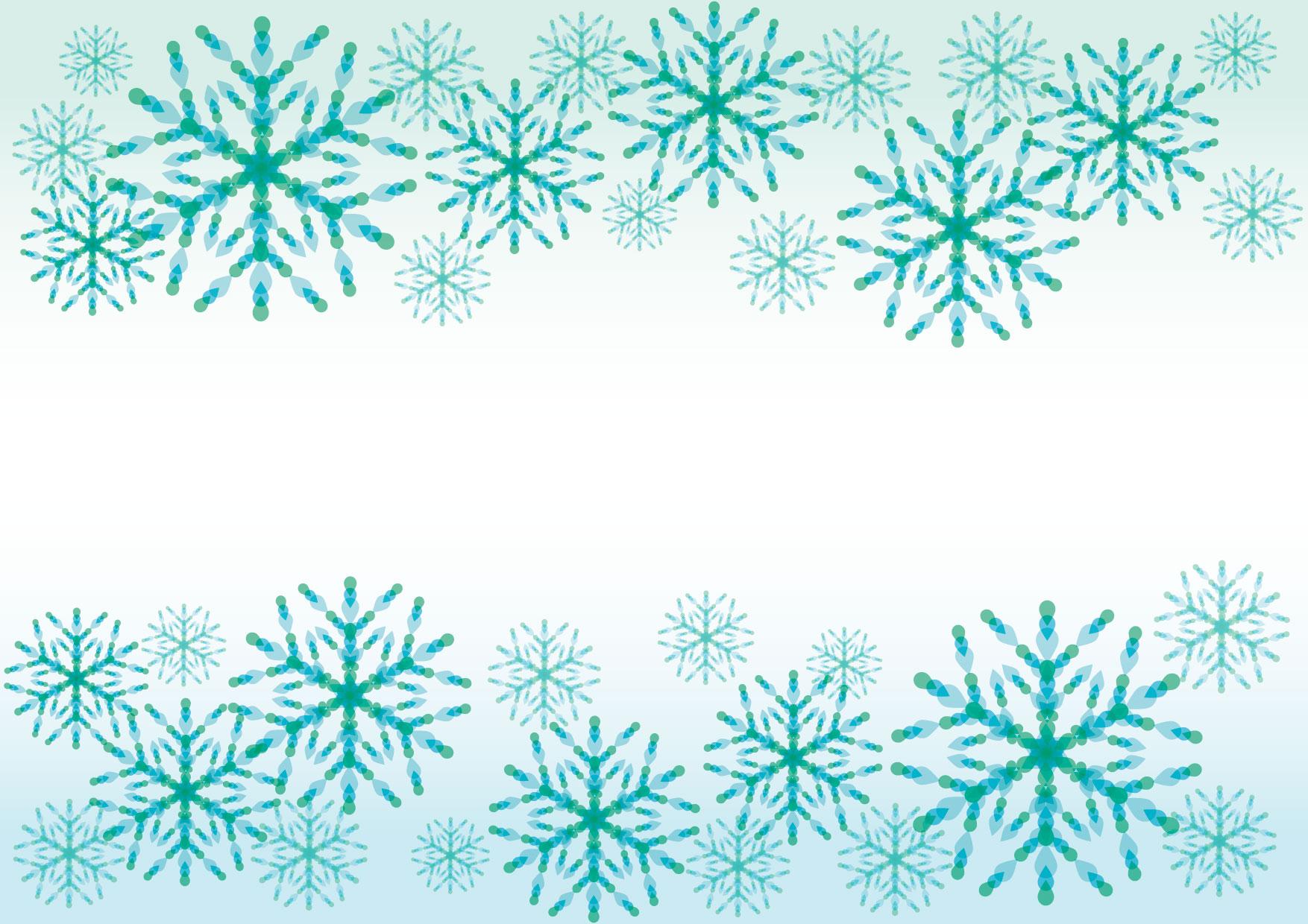 雪の結晶 青 背景 イラスト 無料 | イラストダウンロード