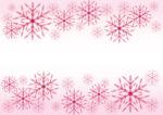 雪の結晶 ピンク 背景 イラスト 無料