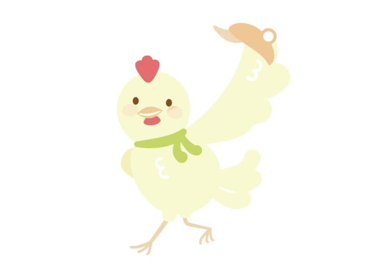 お正月 鶏 お父さん イラスト 無料 無料イラストのイラスト